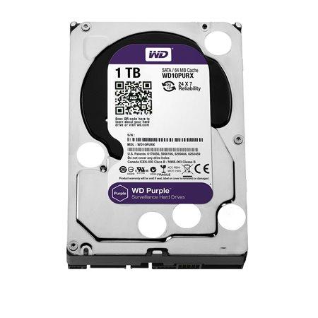 """Disco WD Purple 1Tb 3.5"""" SATA3 6Gbs 64Mb (WD10PURZ)"""