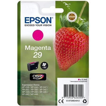 Tinta EPSON Magenta 29 Fresa T2983