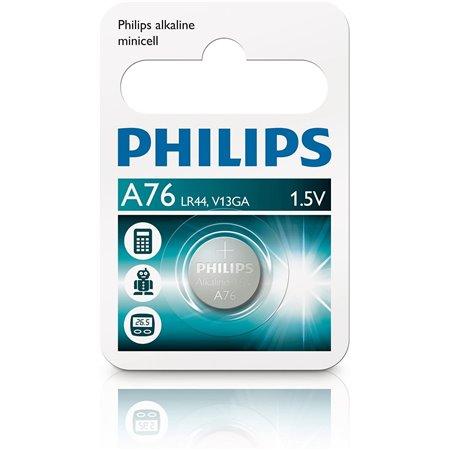 Pila Botón 1.5V  LR44 Philips/Maxell/Panasonic