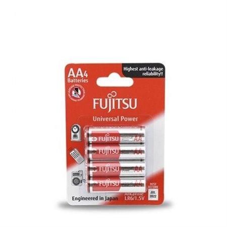Pila Alcalina Fujitsu  LR06 AA BLISTER 4 unidades