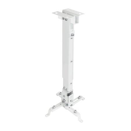Soporte Techo TOOQ proyector 20Kg incl Blanc(PJ2012T-W)