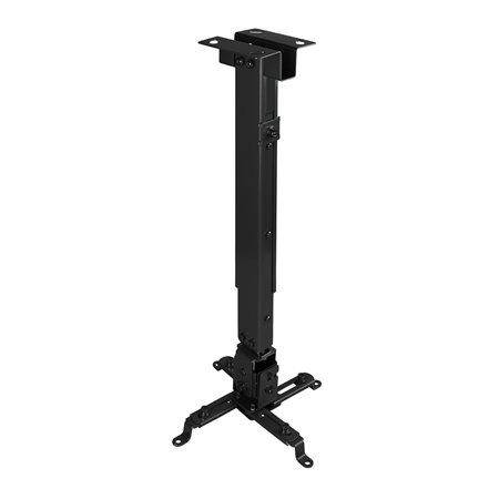 Soporte Techo TOOQ proyector 20Kg incl Negro(PJ2012T-B)