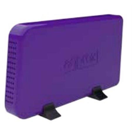 """Caja HDD APPROX 3.5"""" Sata2 USB Purpura (APPHDD07P)"""
