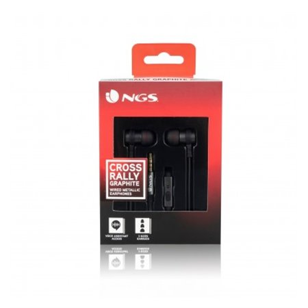 Auriculares NGS Metalicos grafito(CROSSRALLYGRAPHITE)