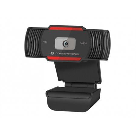 WebCam CONCEPTRONIC FHD Usb 3.6mm con micro (AMDIS04R)