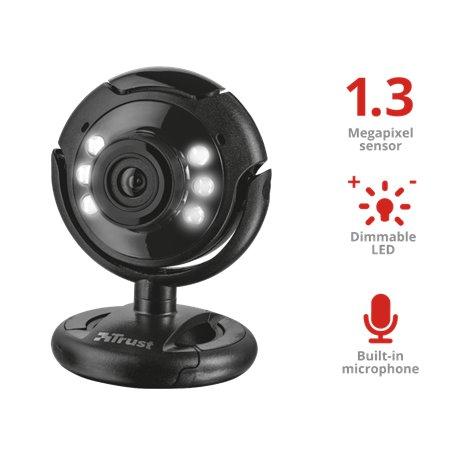 Webcam TRUST SPOTLIGHT con micro Usb (16428)