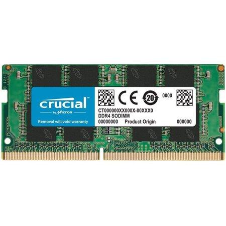 Modulo CRUCIAL DDR4 8Gb 2666Mhz SODIMM(CT8G4SFRA266)