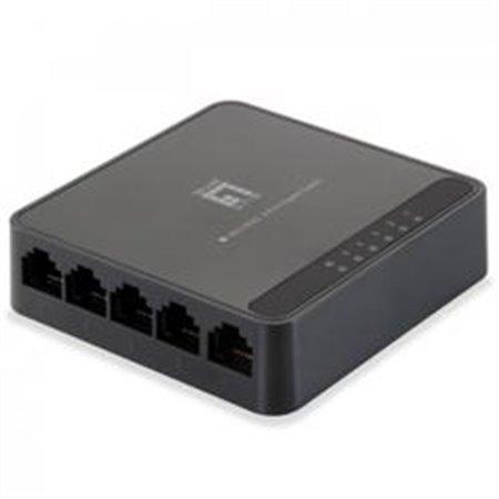 Switch LEVEL ONE 5P 10/100/1000 No gestion (GEU-0522)