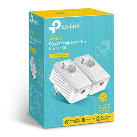 Powerline Kit TP-LINK AV600 (TL-PA4010P KIT)
