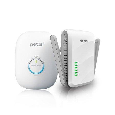 Powerline NETIS adapt. KIT Wifi+RJ45 600Mps (PL7622KIT)