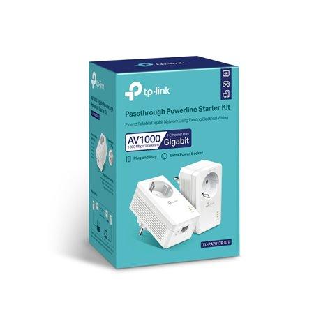 Powerline TP-LINK AV1000 Gigabit (TL-PA7017P KIT)