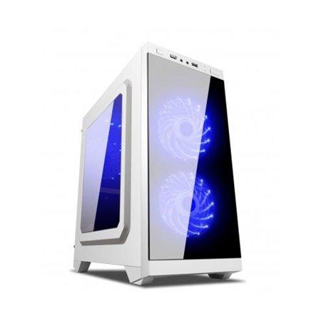 MiniTorre ARMOR C21 mATX Gaming 1xUSB Blanca (511206)