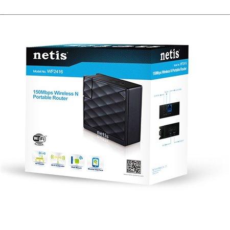 Router/AP NETIS Wireless 150Mbps Portable (WF2416)