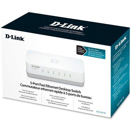 Switch D-Link 5P 10/100 (GO-SW-5E)