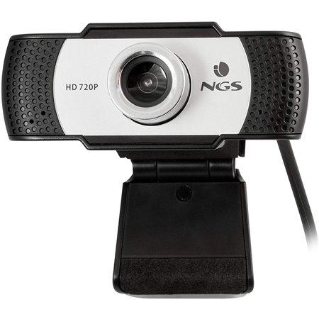 Webcam NGS 720p HD Blanco y Negro (XPRESSCAM720)