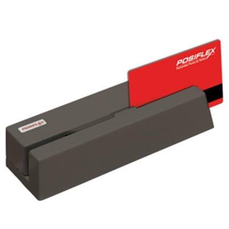 Lector tarj magnetica Posiflex 3p Negro USB (MR-2106UN)