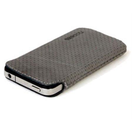 Funda NOOEM Iphone 4 Basic piel GRIS