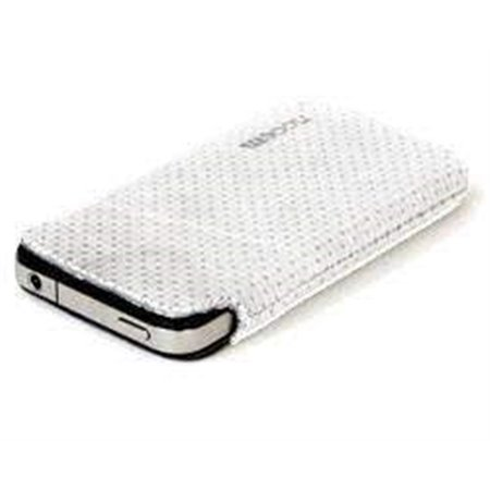 Funda NOOEM Iphone 4 Basic piel BLANCA
