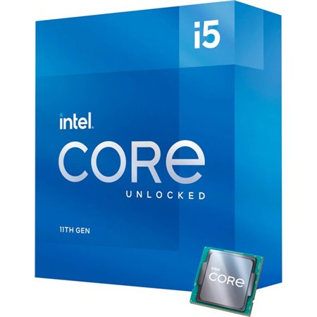 Intel Core i5-11600K 3,9 GHz 12 MB Smart Cache Caja