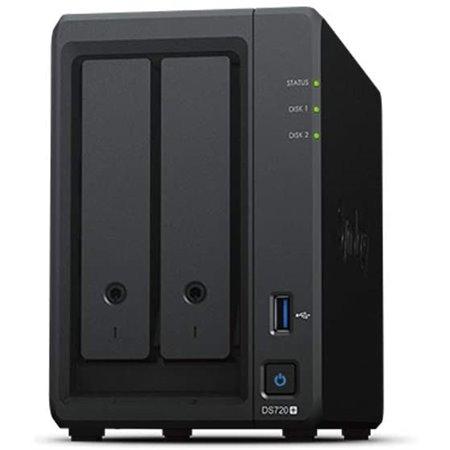 Servidor NAS SYNOLOGY Disk Station 2xSATA (DS720+)