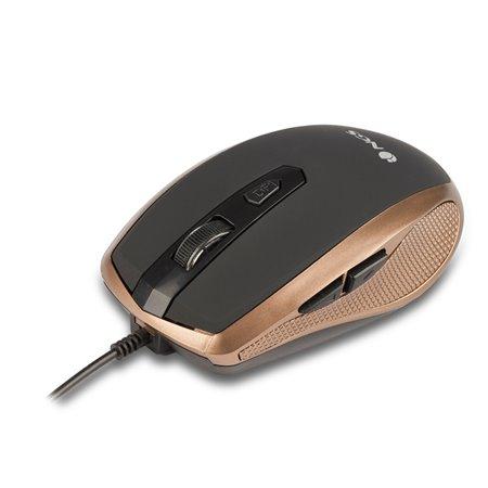 Ratón NGS Óptico USB Dorado (TICK GOLD)
