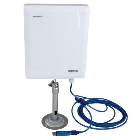 Antena USB APPROX Wireless 480Mbps 26dBi (APPUSB26AC)