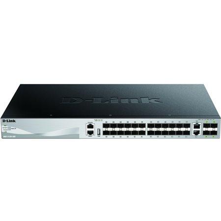 Switch D-LINK 24p/2p 10Giga/4p 10Giga SPF (DGS-3130-30S