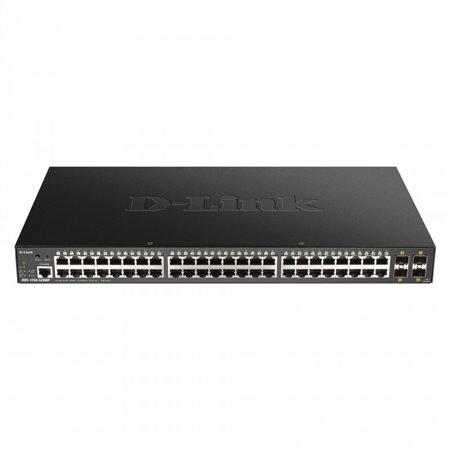 Switch D-LINK 48p Giga Poe/4p SPF+ 10G(DGS-1250-52XMP)