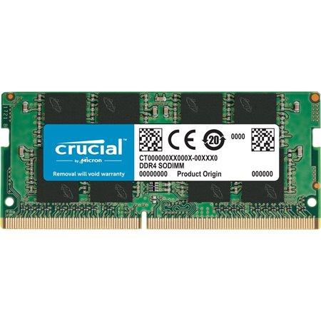 Modulo CRUCIAL DDR4 2666MHz SODIMM (CT32G4SFD8266)