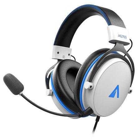 Auriculares ABYSM AG700 PRO 7.1 Blanco/Azul (AB854002)
