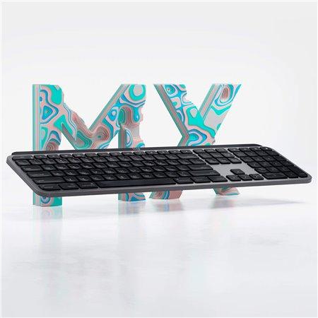 Teclado LOGITECH MX Keys para MAC Wireless(920-009842)