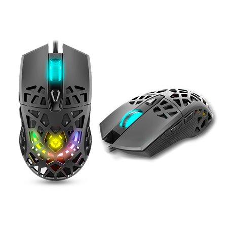Ratón Gaming KROM Kaiyu Ultra Ligero RGB 12000Dpi
