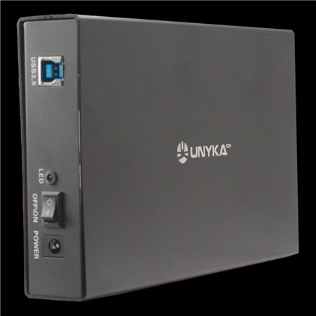 "Caja HDD UNYKA 3.5"" Sata USB 3.0 UK-LOK 0.3 (57004)"