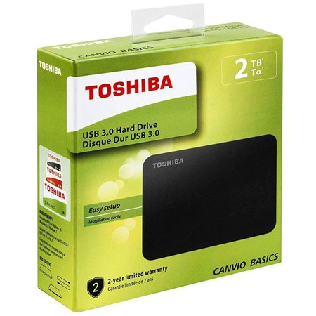 "Disco Toshiba Canvio 2.5"" 2Tb USB3 (HDTB420EK3AA)"