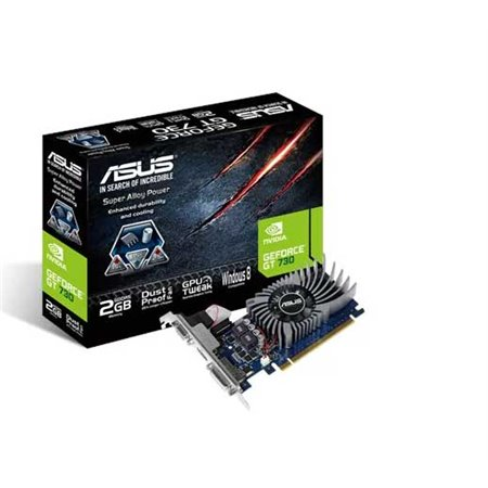 ASUS PCIe Nvidia GT730 2Gb  (GT730-SL-2GD5-BRK)