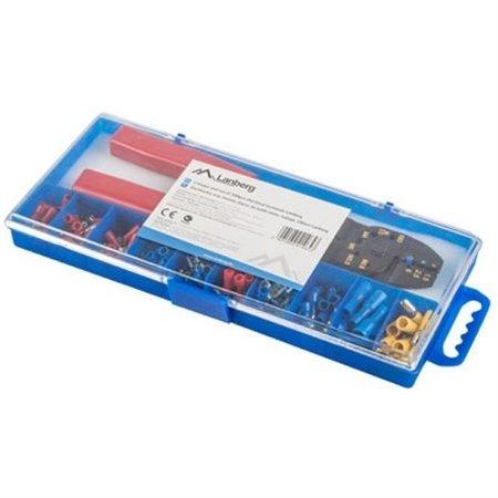 Crimpadora LANBERG 100conectores variado(SCC01-TCC-IT1)