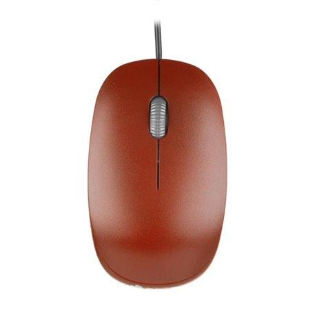 Ratón NGS Óptico USB Rojo (FLAME RED)